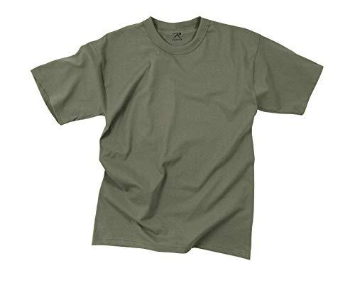 (Rothco 100% Cotton T-Shirt, Foliage Green, X-Large )