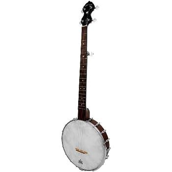 Gold Tone CC-OT/L Cripple Creek Openback Banjo (Left Handed, Five String, Vintage Brown)