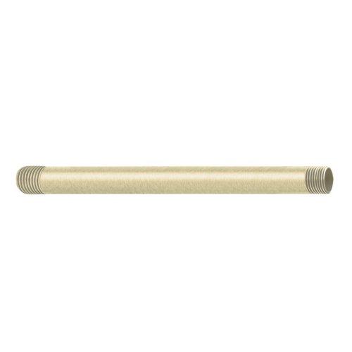Moen 226651BN 12-Inch Straight Shower Arm, Brushed Nickel