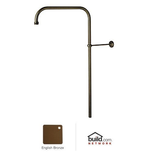 Rohl U.5393EB Perrin and Rowe Rigid Shower Riser, English Bronze, 31'' by Rohl