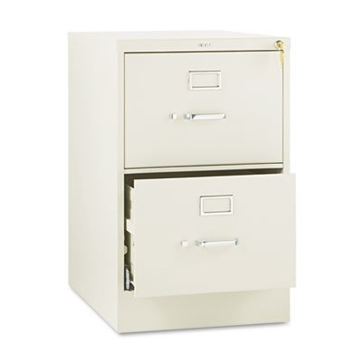 (510 Series Two-Drawer, Full-Suspension File, Legal, 29h x25d, Putty)