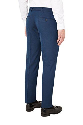 next Homme Pantalon sans pinces Bleu Clair 34 / Long - Slim Fit