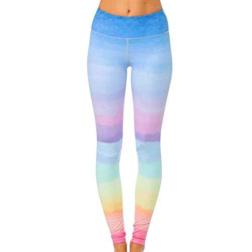 Stretch 5 Yoga Con Alta Sportivi Vita Donna Biran Unico Stampati Da Photo Points Nine Leggings Pantaloni Color pwSx8