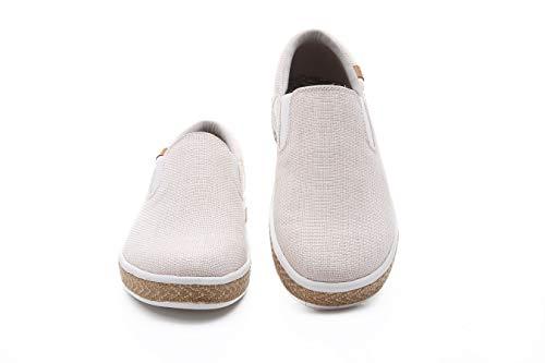Comfort Slip Women's Uin Shoes Tijuana Beige On Linen xtBtZw