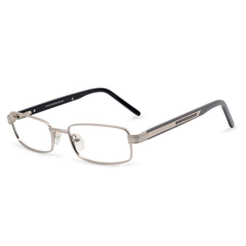 OCCI CHIARI Optical Metal Eyewear Non-prescription Eyeglasses Frame with Clear Lenses For ()