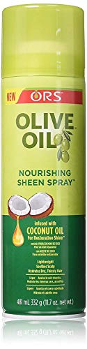 - Ors Olive Oil Sheen Nourshing Spray 11.7 Ounce (346ml) (3 Pack)