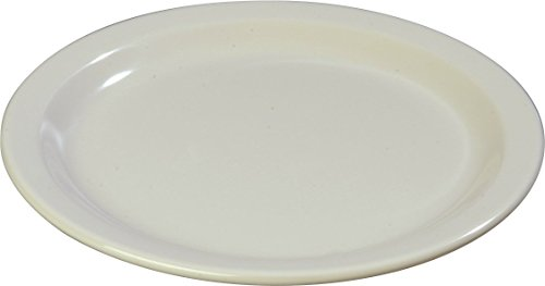 Carlisle Rim Wide Plates (Carlisle 4350142 Dallas Ware Melamine Dinner Plate, 9