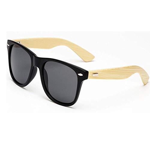 Sebami Gafas de Sol de Madera de Bambú con Azul Lente Polarizada de  Protección UV en 5492975ae14e