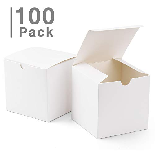 GSSUSA Small Gift Boxes 100Pack 4x4x4