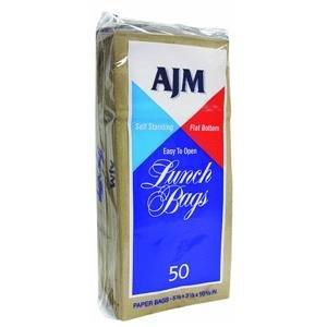 Paper Lunch Bag - Smart Savers - 50 Bags Total