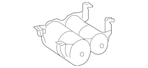 Mercedes Benz Genuine Pressure Accum 164-320-02-15