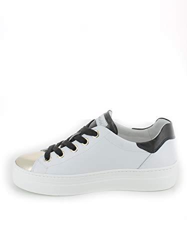 Con Nerogiardini Oro sneaker Puntale In Pelle qtwtxRrB