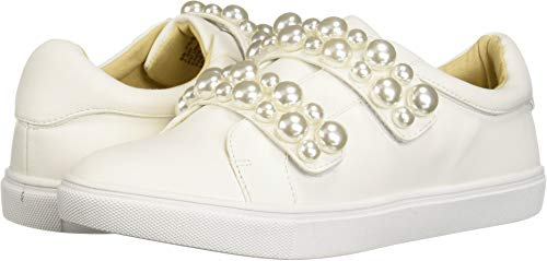 Betsey Johnson Women's SB-Tilie Sneaker, White, 9.5 M US by Betsey Johnson