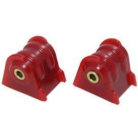 Energy Suspension Engine Mount 2 Piece Set Red 1987-2006 Jeep Wrangler TJ, YJ, Cherokee XJ # 21104R (Jeep Tj Engine Mounts)
