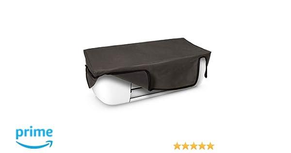 kwmobile Funda para HP DeskJet 3720 - Cubierta Protectora Antipolvo de Impresora - Forro Protector Gris Oscuro