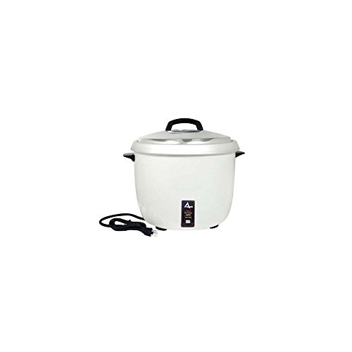 Adcraft Countertop Rice Cooker, 12.5 x 12.5 x 9 inch - 1 (Adcraft Fork)