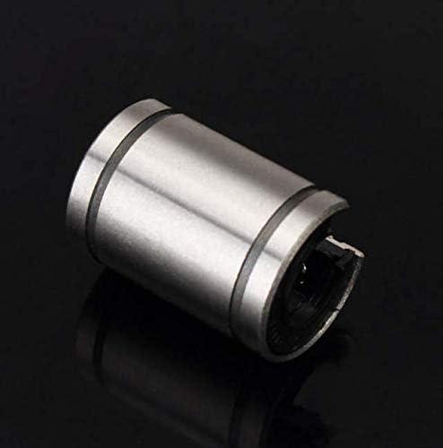 Atfipan LM12UUOP 12x21x30mm Open Type Linear Motion Ball Bearing Bush Bushing for CNC DIY