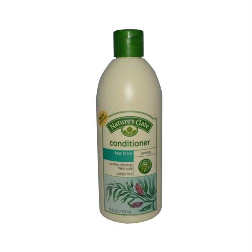 Natures Gate Tea Tree Conditioner - Nature's Gate Tea Tree + Sea Buckthorn Calming Conditioner, 18 Fluid Ounce