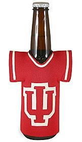 Casey's Indiana Hoosiers 12oz JERSEY Bottle Koozie Holder Cooler University of