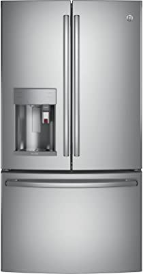 """GE Profile PFE28PSKSS 36"""" French Door Refrigerator with 27.8 cu. ft. Total Capacity, in Stainless Steel"""