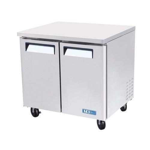 Refrigerator Silver Undercounter (Turbo Air (MUR-36) - 36