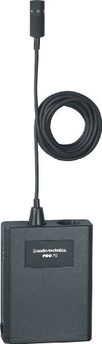 - Audio-Technica PRO 70 Cardioid Condenser Lavalier/Instrument Microphone