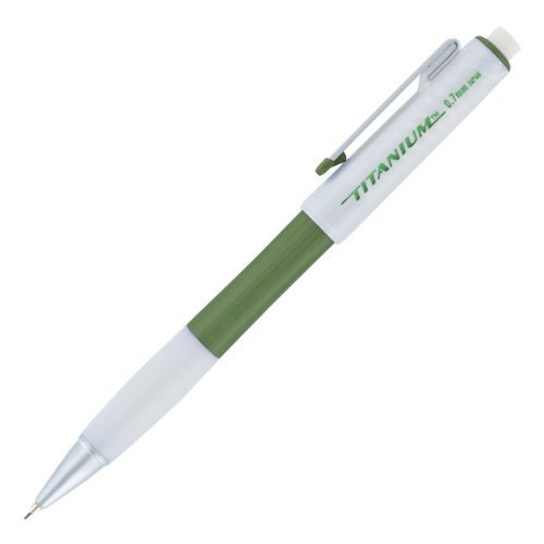 Titanium Mechanical Pencil - Papermate Titanium Mechanical Pencils, 0.7mm, Green, Dozen - 64234