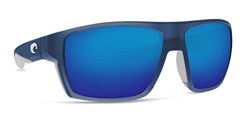 Glass Fusion Chip - Costa Del Mar Bloke Sunglasses Bahama Blue Fade/Blue Mirror 580Glass