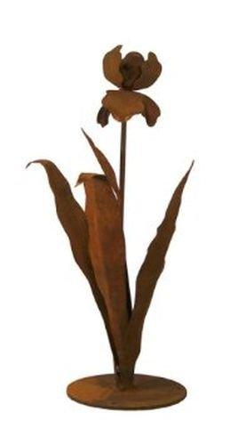 Small Iris Garden Sculpture - 2