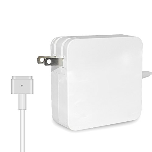Sqrmekoko Charger Compatible with MacBook Pro, 60W AC Magsafe 2 (T-Shape) Power Adapter Charger Replacement for MacBook Pro 13 inch Retina Display After mid 2012 by Sqrmekoko