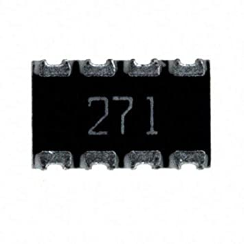 Pack of 100 RES ARRAY 4 RES 270 OHM 2012 744C083271JP