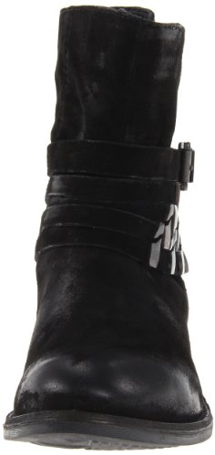 Traker STEVEN Madden by Women's Black Distressed Steve wpqBrI8p
