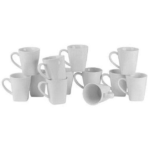 white coffee mugs set of 8 - 4