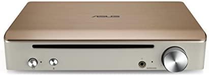 ASUS SBW-S1 Pro - Grabadora de BLU-Ray Externa + Tarjeta de Sonido, Salida de 7.1 Canales, Amplificador de Auriculares de 600 Ohm, Compatible con Mac, ...