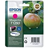 Epson T1293 - Cartucho de tinta para Epson Stylus SX420W/SX525WD/SX620FW, 330 páginas, color magenta