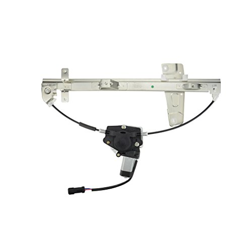 A-Premium Power Window Regulator with Motor for Jeep Grand Cherokee WJ 2001-2004 Front Right Passenger Side