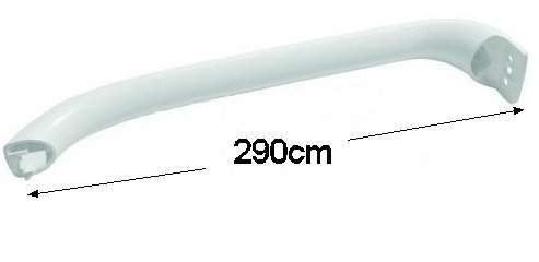 Bosch Exxcel Fridge Freezer Door Handle, KGV, KSV Models, 29cm (11 1/2