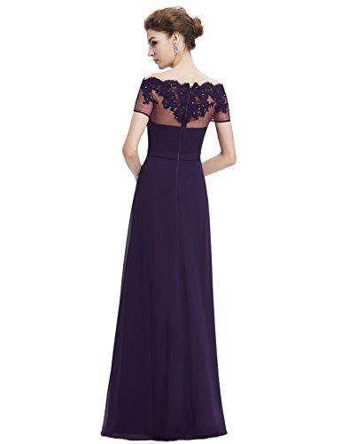 Ever Sera Purple Donna Pretty Vestito Dark SRrpwSHq