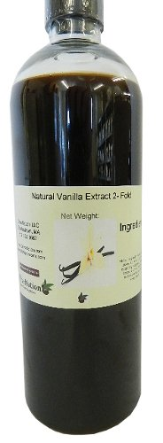 Natural Vanilla Extract 2 - Fold 16 oz by OliveNation by OliveNation (Image #1)