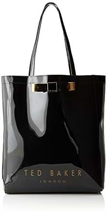 Ted Baker Plain Bow Icon Shoulder Bag,Black,One Size