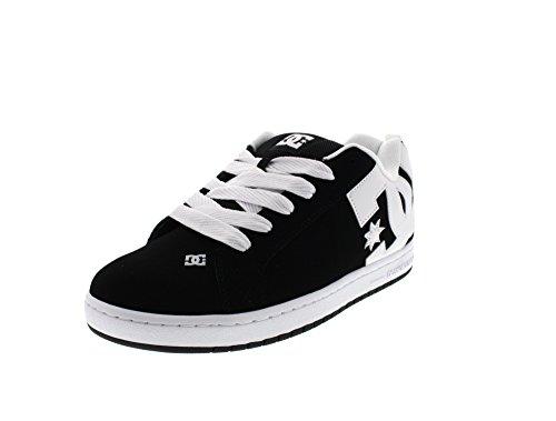Graffik Black Skateboard Scarpe DC White da Court Uomo Black ZPq5a7x