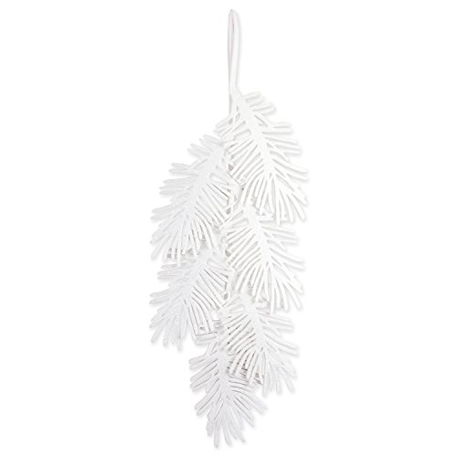 DII Large Hanging Holiday Pine Leaves with Sparkle for Door & Wall Decoration, Enhance Your Décor for Home, School, Office, or Party (21L x 47