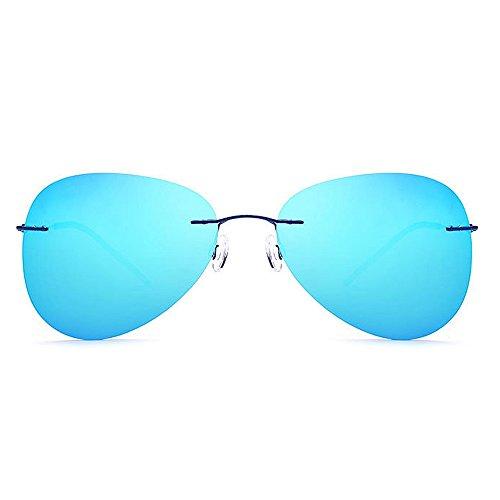 Superlight Rectangular pour UV Hommes Lunettes Al polarisé 100 MG Bleu de Driving en Alliage Cadre Soleil TP Noir polarisées Couleur xa6nYWWp