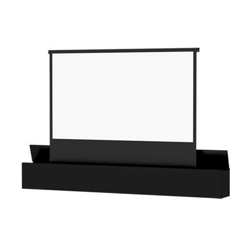 Ascender Electrol Matte White Electric Projection Screen Viewing Area: 133