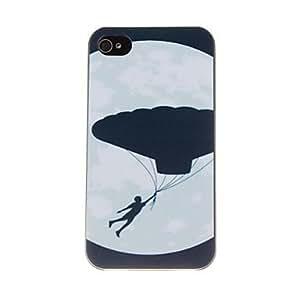 Vuela en el patrón del cielo nocturno Caja dura de la PC para el iPhone 4/4S
