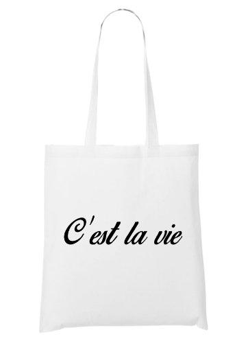 C`est La Vie C`est La Bolsa Blanco nwp7dYwqE