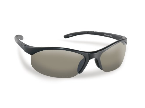 Flying Fisherman Bristol Polarized Sunglasses (Matte Black Frame, Smoke Lenses) from Flying Fisherman
