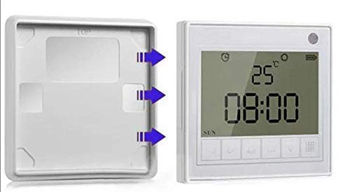 HC 24x7 RF Wireless Timer for smart electric curtain tracks, Ultra Roller Shutter, Switch Shutter Timer Clock Switch for Tubular Motor for Roller Shutter Drive