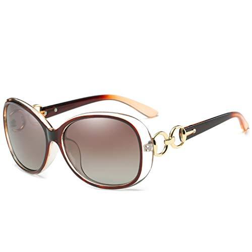 en de E 5 Mode Conduite Dames éblouissement Anti Couleur Miroir Lunettes lentille Grand Soleil Couleur Cadre Option HQCC fxZ1Rw