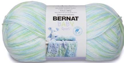 - Bernat Big Ball Baby Sport Yarn, Funny Prints